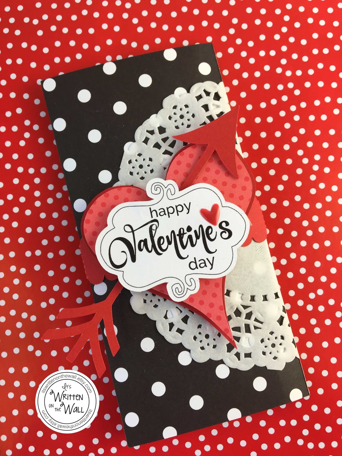 It's Written On The Wall: Wrap Up Some Valentine