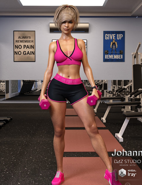 Johanna for Genesis 3 Female