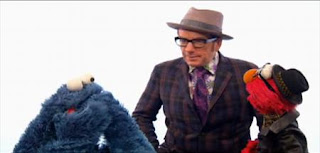 Elvis Costello and Elmo sing A Monster Went and Ate My Red Two. Sesame Street Best of Friends