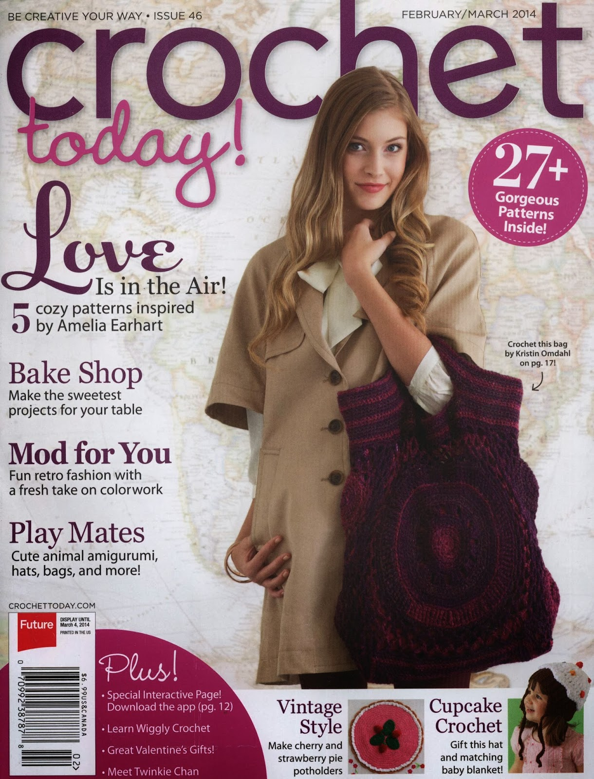Revista Crochet Febrero Marzo 2014