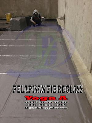 Pelapisan Fibreglass, Pelapisan FRP, Pelapisan fiberglass, lining fiberglass, lining frp, lining fibreglass