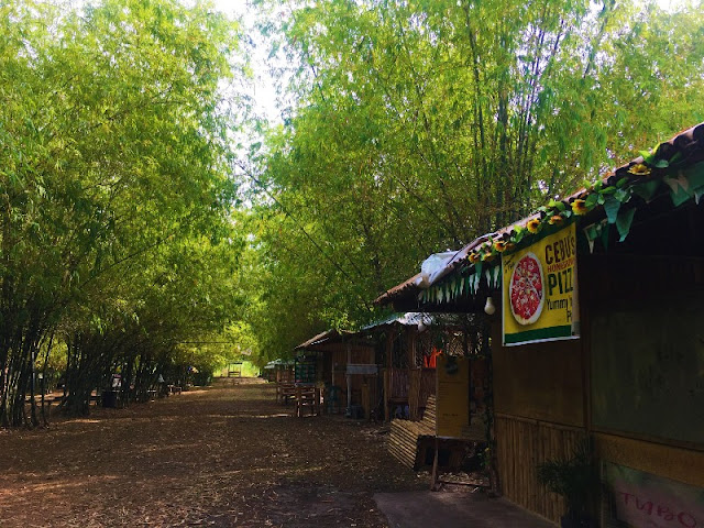 Bamboo Forest Food Stalls