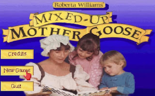 Videojuego Mixed-Up Mother Goose