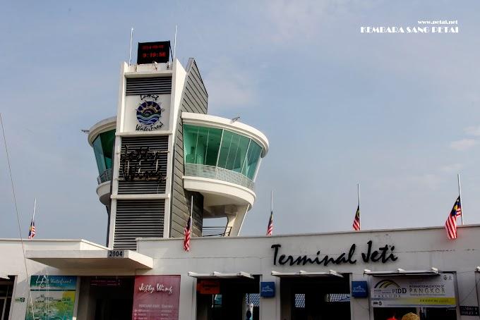 Terminal Jeti Lumut Yang Menguji Kesabaran