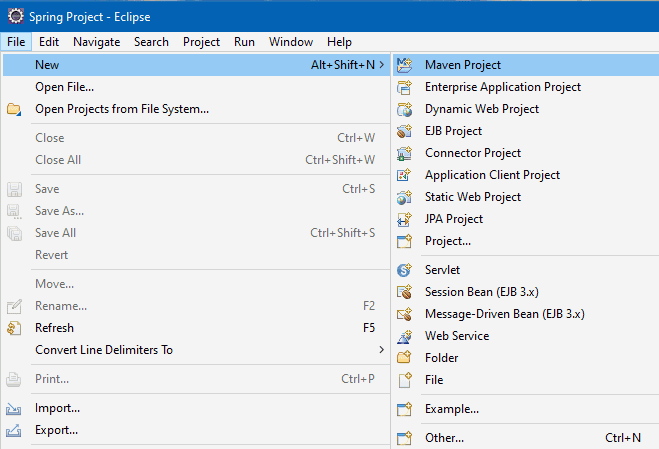 Create New Maven Project in Eclipse | Consume Restful WebService
