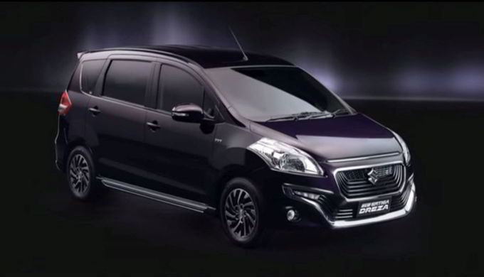 Mobil Suzuki Ertiga Dreza Low MPV Tangguh