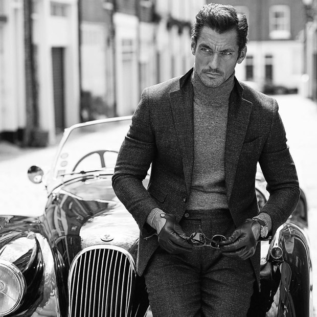 David Gandy, Vanity Fair, Magazine, cover, UK, Fall 2016, supermodel, menswear, moda hombre, Arnaldo Anaya-Luca, Suits and Shirts,