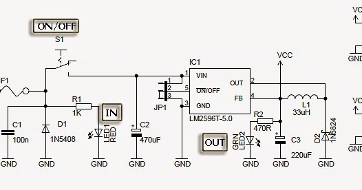 Electronic Project: USB Car Charger with LM2596