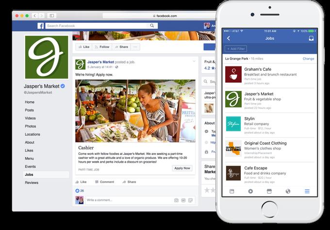 Facebook'ta Is Ilani Yayinlamak ve Is Basvurusu Yapmak Artik Mumkun! (Su An Icin Sadece ABD ve Kanada'da) (Video)