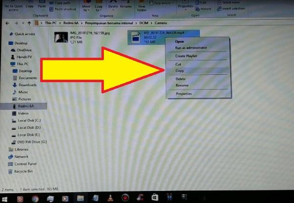 cara memindahkan foto dari hp ke laptop menggunakan kabel usb 8