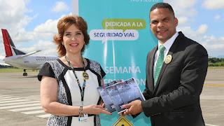 AERODOM se suma a campaña Educación Seguridad Vial promovida por la Presidencia