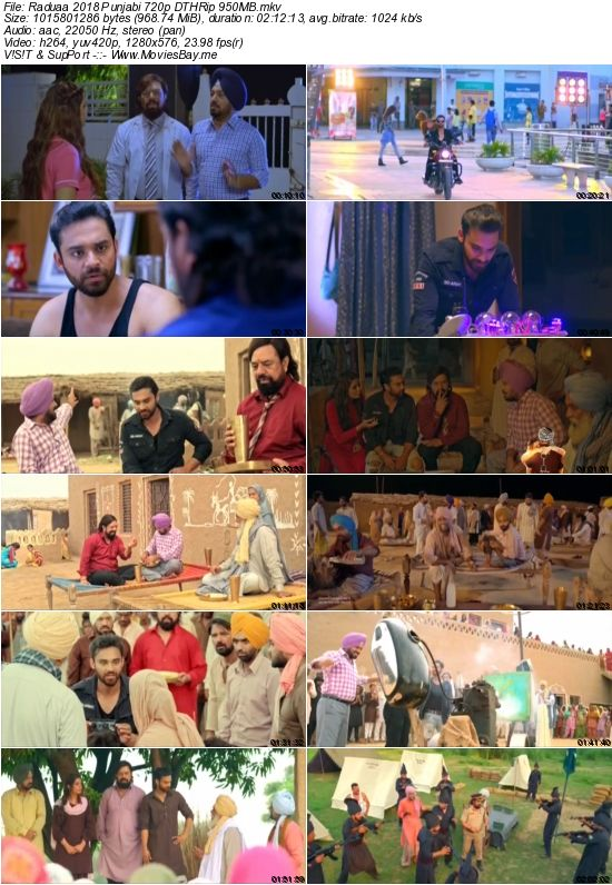 Raduaa 2018 Punjabi 720p DTHRip 950MB