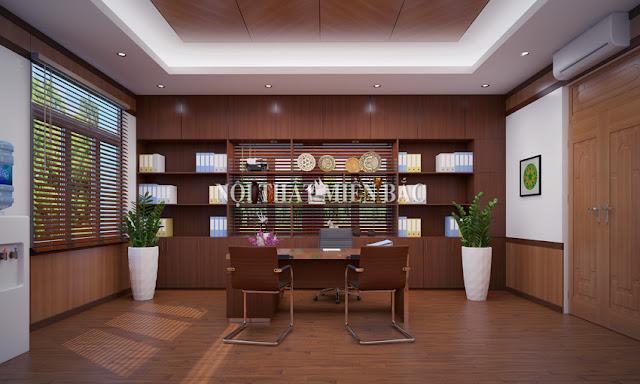 Tư vấn thiết kế nội thất phòng giám đốc hiện đại - H2