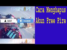 Cara Menghapus Akun Free Fire/Garena. 1