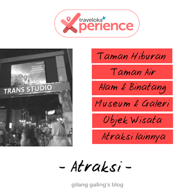 atraksi traveloka xperience