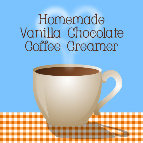 Easy to make dairy and natural ingredients flavored coffee creamer #recipes #coffee
