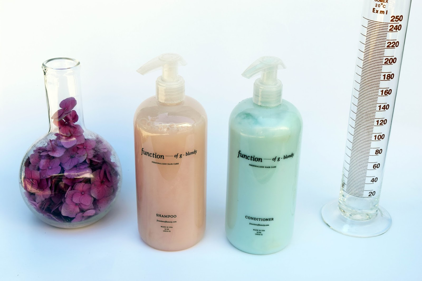Function of beauty, hair care, customized hair care, make your own shampoo, shampoo, conditioner