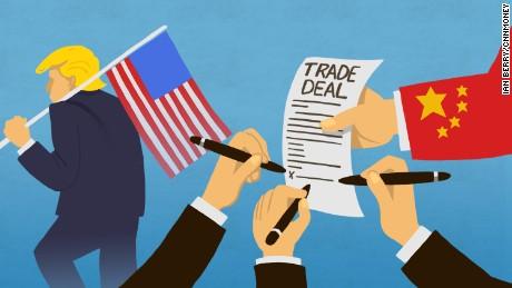 Америк болон Хятад хоёр улсын хооронд явагдаж худалдааны буй дайн