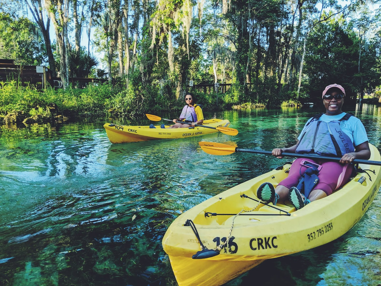 crystal river manatee kayak 1