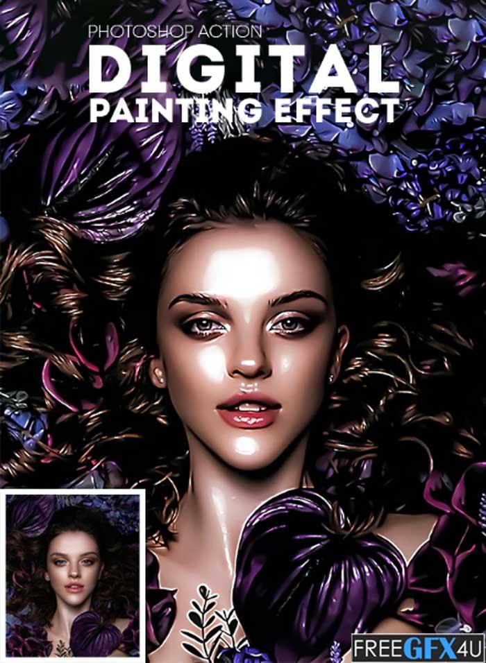 Digital Painting Effect