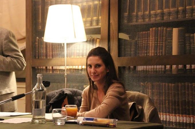 Carlotta Amerio presenta il nuovo libro 'Al limite del sogno'