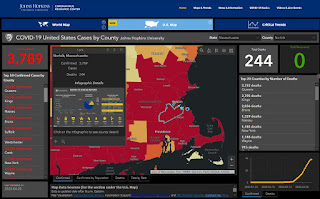 John Hopkins Interactive map (selected for MA and Norfolk County)