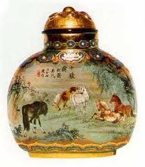 Chinese Biyanhu Snuff Box