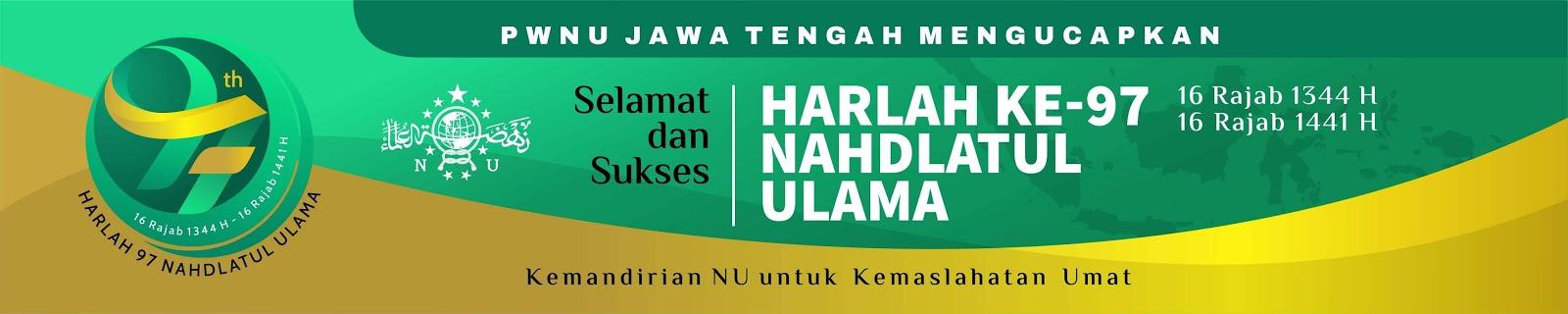 Spanduk Peringatan Harlah ke-97 Nahdlatul Ulama - Download ...