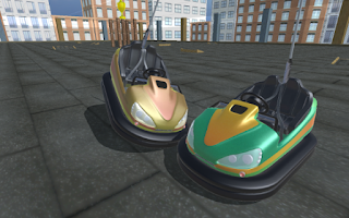 Game Bumper Cars Blocky Destruction Apk