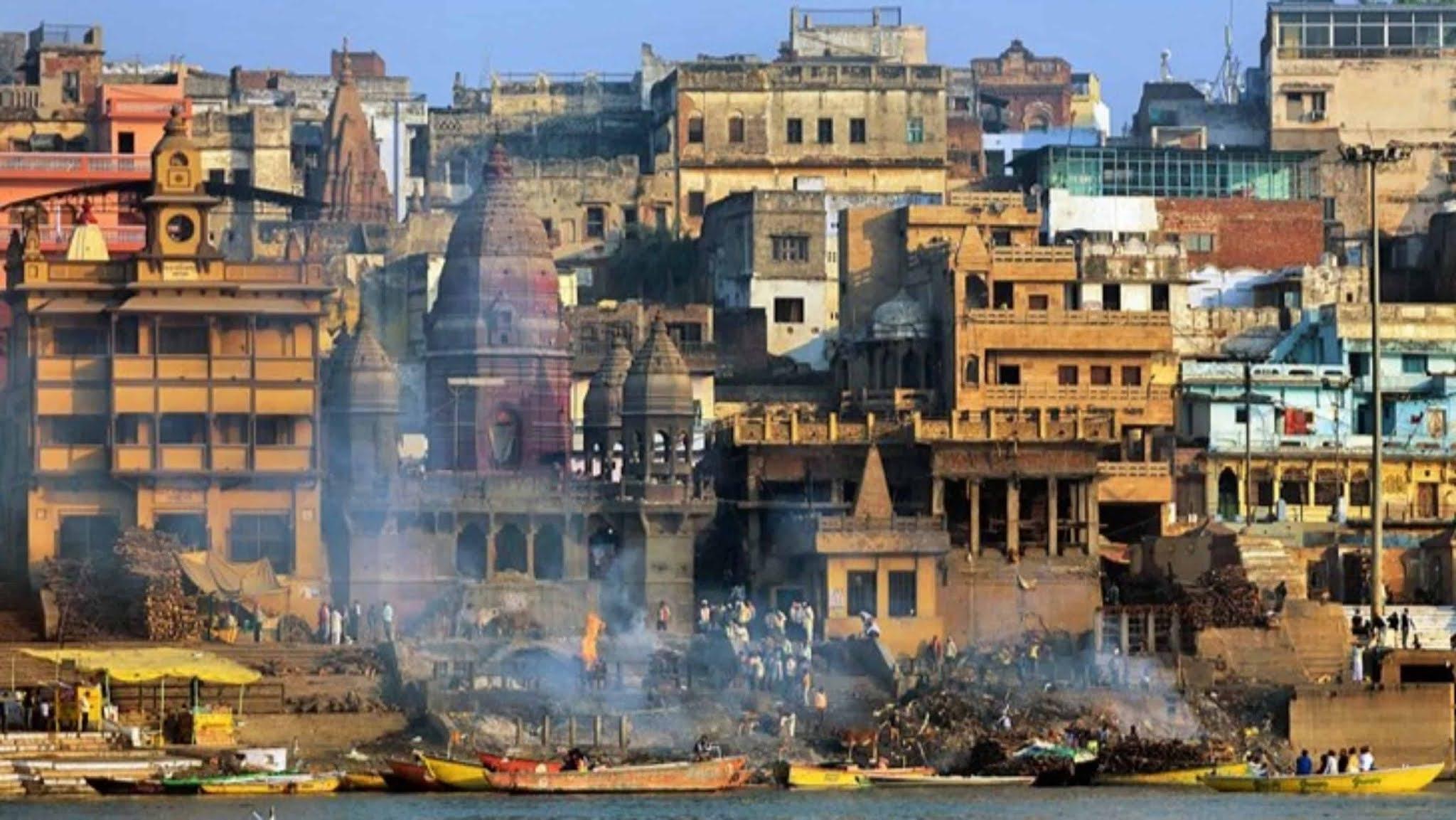 Manikarnika Ghat kashi vishvanath