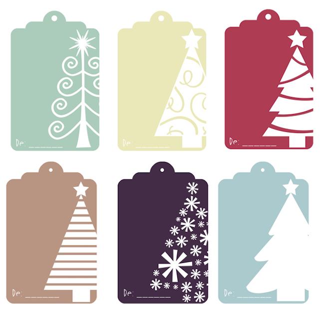 10 etiquetas regalos imprimibles navidad