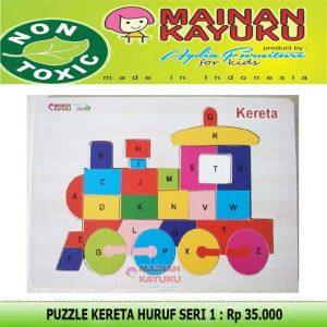 Puzzle Kereta Huruf Seri 01