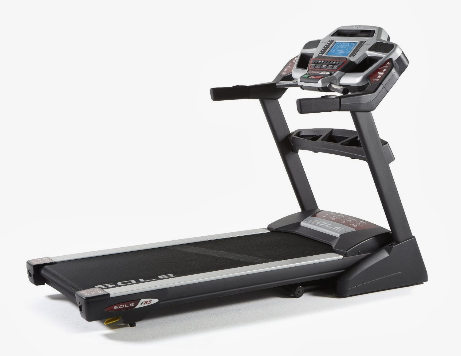 Sole Fitness F85 Fold Treadmill, review of features, see it in action, less impact on joints, buy at low price