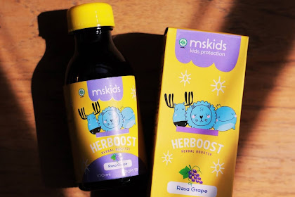 MS Glow Kids Herboost agar Anak Bebas Beraktivitas di Luar Rumah