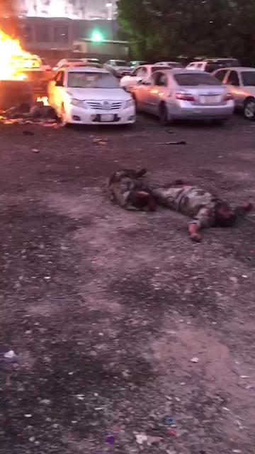 Inilah Video Ledakan Bom Bunuh Diri Di Masjid NABAWI Madinah