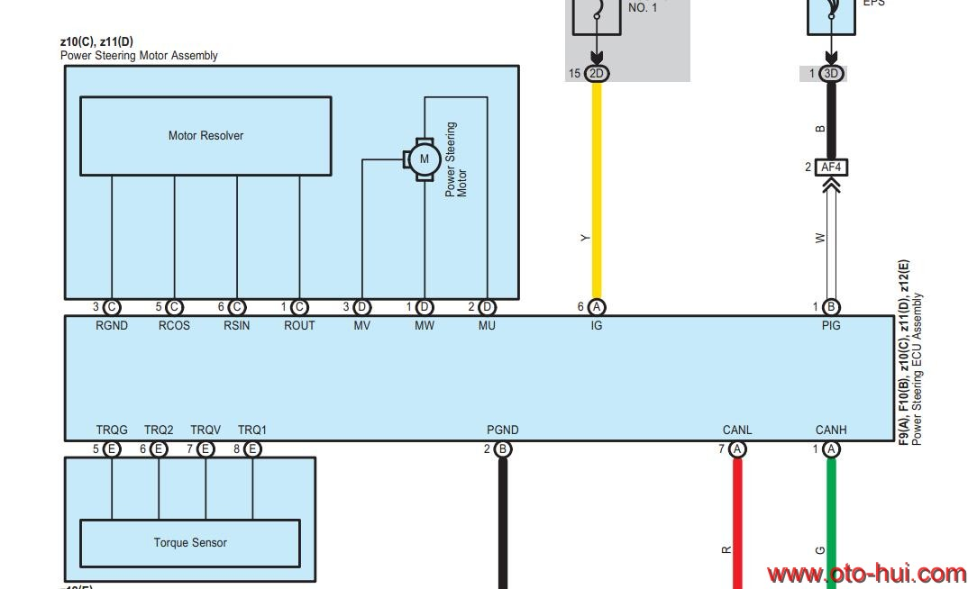Free Auto Repair Manual : Lexus RX350 2010 Wiring Diagram