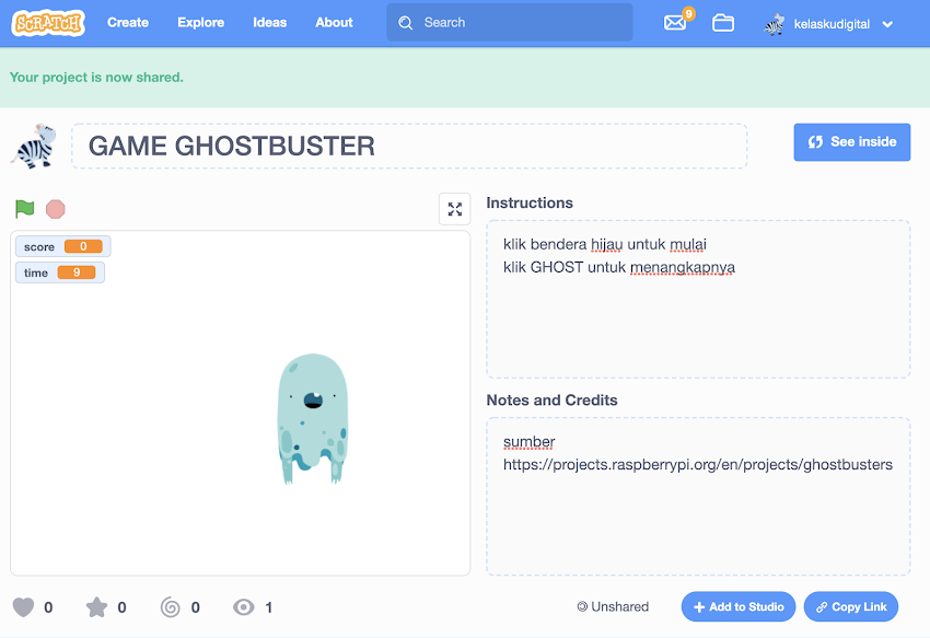 GAME GHOSTBUSTER