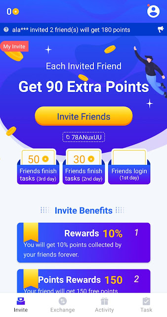 تطبيق خرافي لربح المال من الانترنت