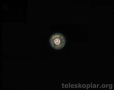 Teleskop ile eskimo bulutsusu gözlemi