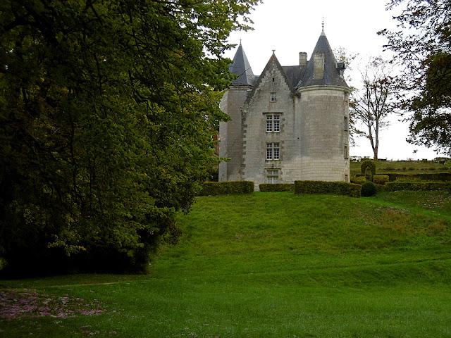 Chateau de la Roche-Berthault, Indre et Loire, France. Photo by Loire Valley Time Travel.