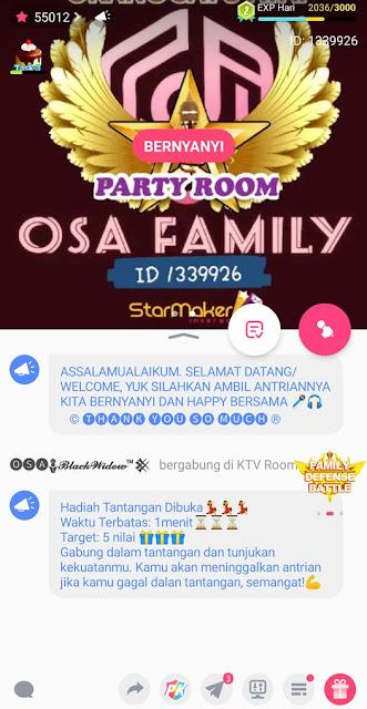 OSA Family di StarMaker (Orang Satu Atap)