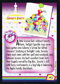 My Little Pony Smarty Pants Series 2 Trading Card