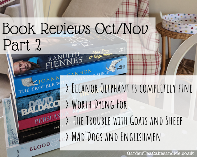 book reviews October November Eleanor Oliphant