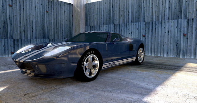 Ford GT American classic supercar