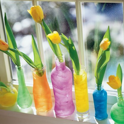 Crafts: Colored Sand Vases