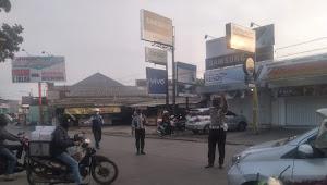Senin Pagi Kanit Lantas Polsek Baleendah Polresta Bandung, Protap Gatur Lalin