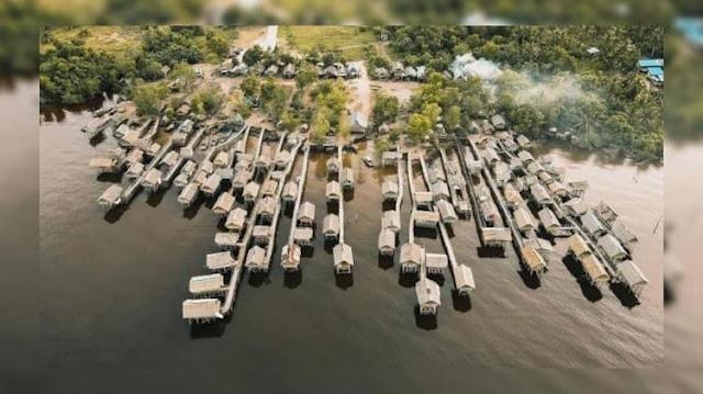 Tempat Wisata Pantai Purnama Dumai