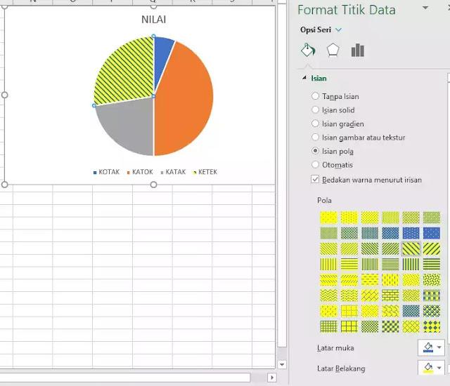 download chart pattern fills excel 2007