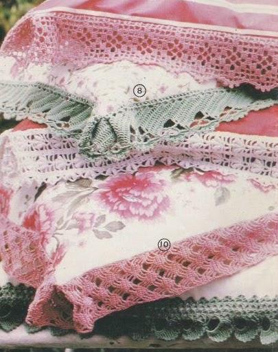 Professione donna lavori con l 39 uncinetto bordi per for Bordi uncinetto per asciugamani