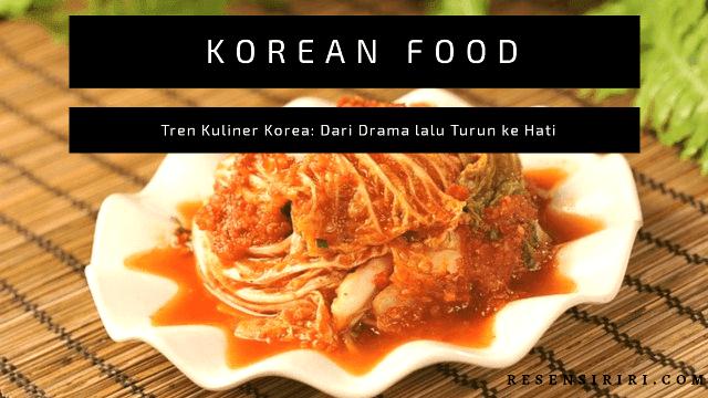 Makanan korea tren restoran mujigae kuliner drama let's eat yoon do joon